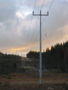 LEJ 40 kV stalstp